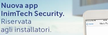 Nuova app InimTech Serurity.
