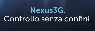 Nexus3G. Controllo senza confini.